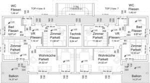 Neubauwohnung zu mieten – 69 m²