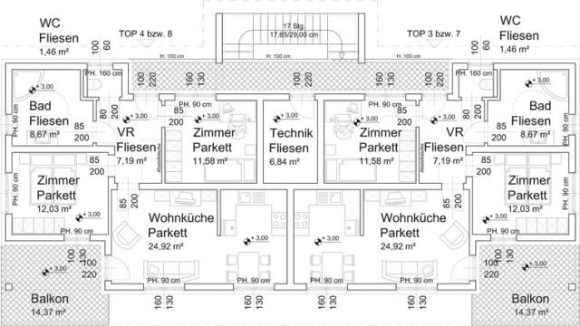 Neubauwohnung zu mieten – 65 m²